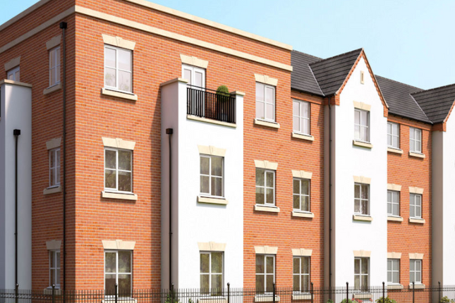 Thumbnail Flat for sale in The Abbey, Two Gates, Tamworth