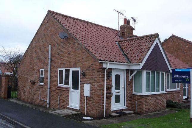 Thumbnail Semi-detached bungalow to rent in 36 Moorfields, West Moor Lane, Raskelf