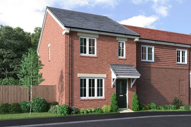 Thumbnail Semi-detached house for sale in Gade Valley Close, Kings Langley