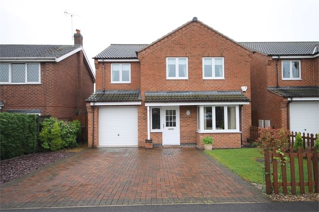 Thumbnail Detached house for sale in Primrose Avenue, Newark, Nottinghamshire.