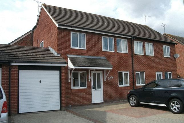 Thumbnail Semi-detached house to rent in Sovereign Close, Didcot