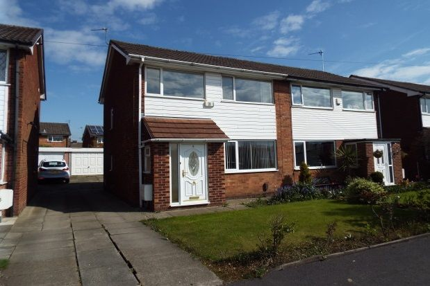 Thumbnail Semi-detached house to rent in Trinity Crescent, Walkden, Manchester