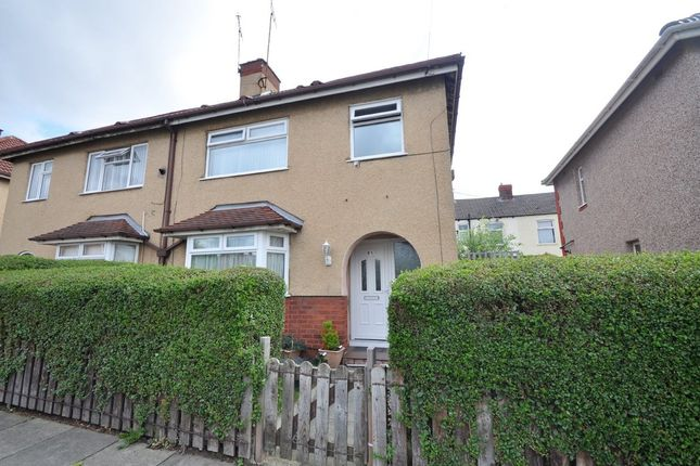 Thumbnail Semi-detached house for sale in Rycroft Road, Wallasey