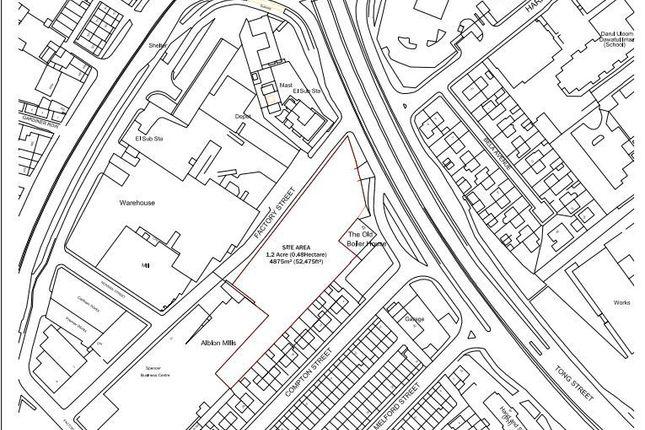 Thumbnail Land for sale in Land At, Factory Street, Bradford, Bradford