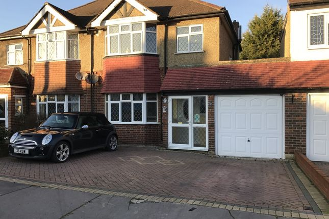 Thumbnail Semi-detached house for sale in Links View Road, Croydon, London