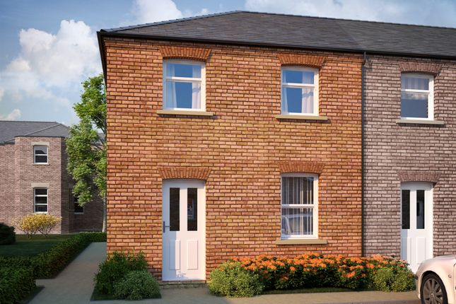 Thumbnail End terrace house for sale in Fleet Mews, Holbeach, Spalding