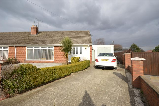 Thumbnail Semi-detached bungalow for sale in The Green, Whitby, Ellesmere Port