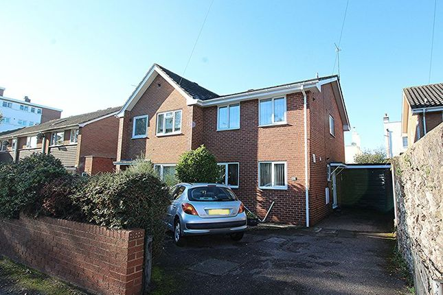 Thumbnail Semi-detached house for sale in Barrack Road, St. Leonards, Exeter