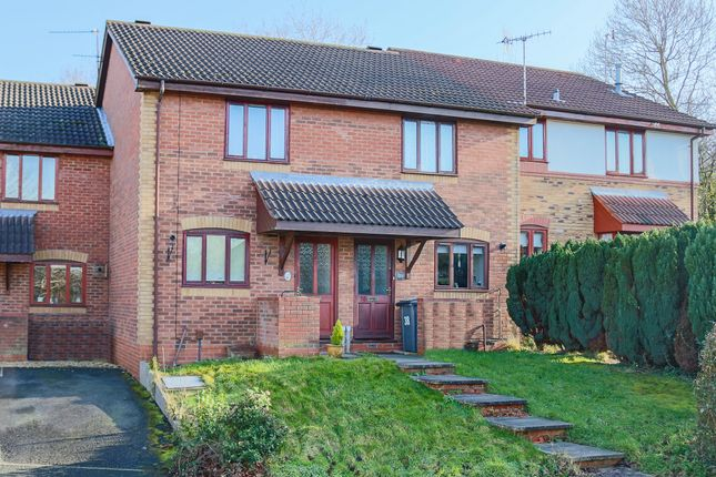 Thumbnail Terraced house for sale in Ashmores Close, Redditch