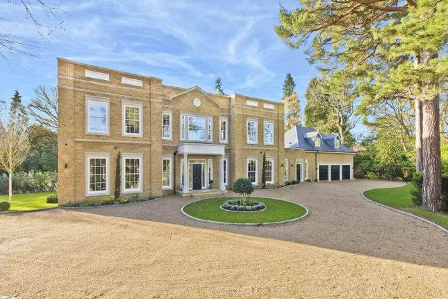 Thumbnail Detached house for sale in East Road, St George's Hill, Weybridge