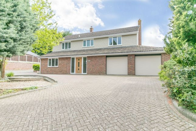 Thumbnail Detached house for sale in Hurnard Drive, Lexden, Colchester, Essex