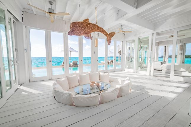 Indoor Seating of Medufaru Island, Noonu Atoll, Maldives