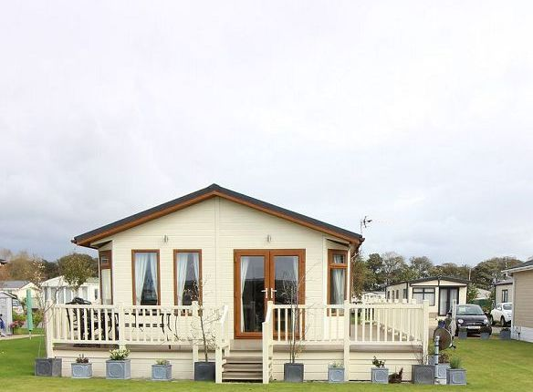 2 bed lodge for sale in The Roost, The Oval, Brooklyn Caravan Park