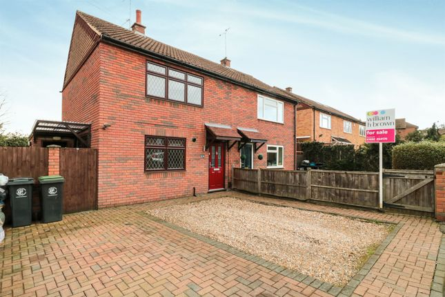 Thumbnail Semi-detached house for sale in Palmers Grove, Nazeing, Waltham Abbey