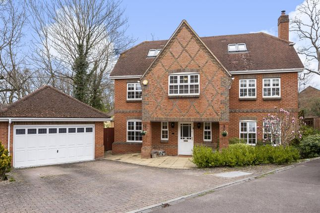 Thumbnail Detached house for sale in Morris Rise, Chineham, Basingstoke