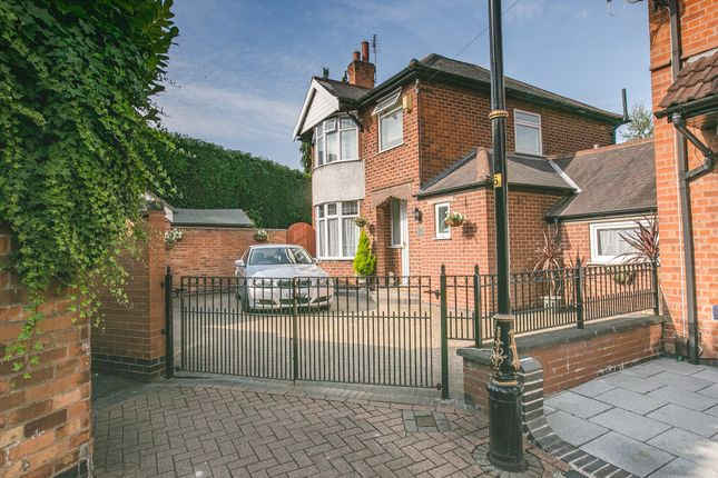 Thumbnail 4 bed link-detached house for sale in Merton Avenue, Leicester