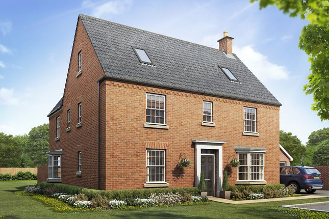 "Thumbnail Detached house for sale in ""Moorecroft"" at Priorswood, Taunton"