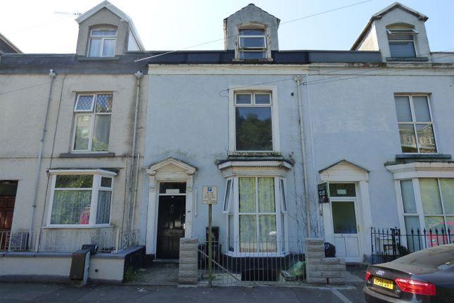 Thumbnail Terraced house for sale in Carlton Terrace, City Centre, Swansea