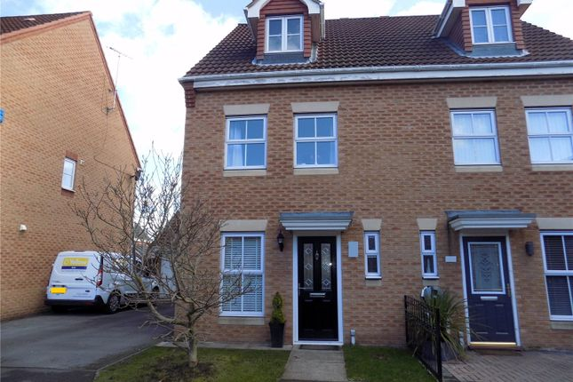 Thumbnail Town house for sale in Bella Close, Langley Mill, Nottingham, Derbyshire