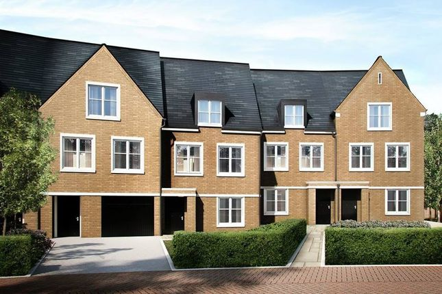 "Thumbnail Terraced house for sale in ""The Oakland"" at Wick Road, Englefield Green, Egham"