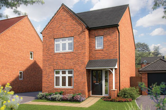 "Thumbnail Semi-detached house for sale in ""The Cypress"" at Irthlingborough Road, Wellingborough"