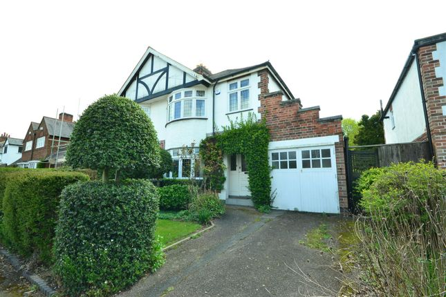Thumbnail Semi-detached house for sale in Shanklin Drive, South Knighton, Leicester