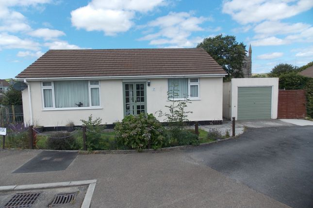 Thumbnail Detached bungalow to rent in St Cleer, Liskeard, Cornwall