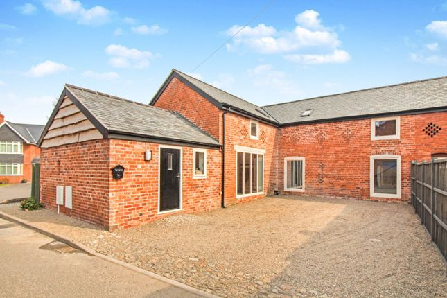 Thumbnail Barn conversion for sale in St. Martins Road, Oswestry