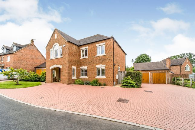 Thumbnail Detached house for sale in Lower Drive, Besford, Worcester