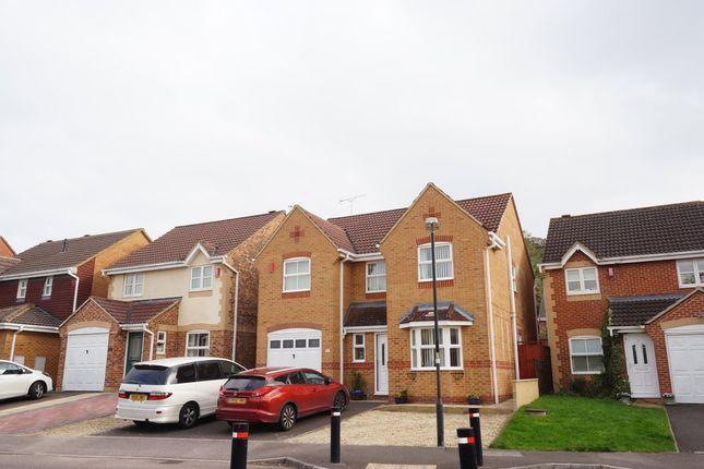 Thumbnail Detached house for sale in Elsham Way, Swindon