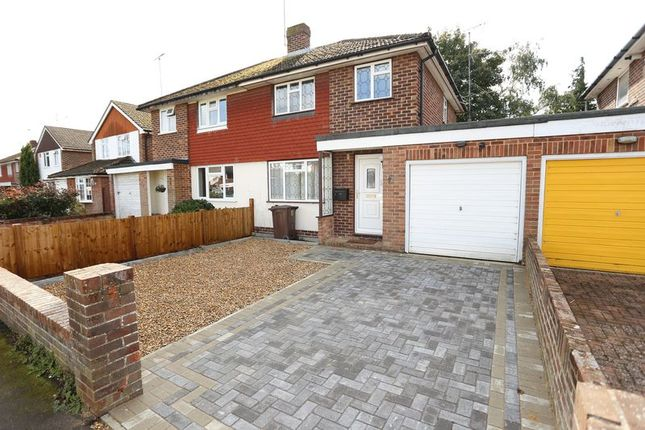 Thumbnail Semi-detached house to rent in Cottesmore Road, Woodley, Reading
