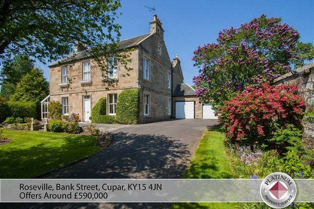 Thumbnail Detached house for sale in Roseville, Bank Street, Cupar, Fife