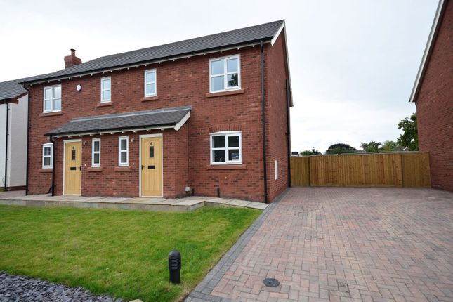 Thumbnail Semi-detached house for sale in The Pastures, Tilstock Lane, Tilstock