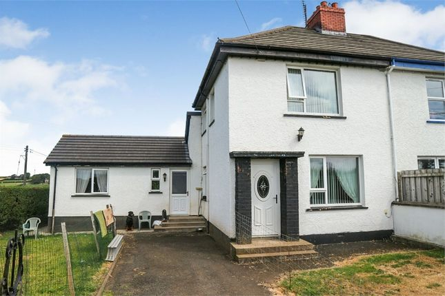 Thumbnail Semi-detached house for sale in Kiltinny Road, Portstewart, County Londonderry