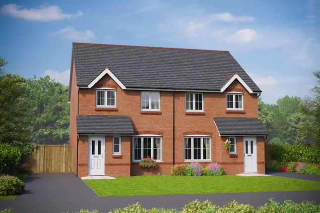 Thumbnail Semi-detached house for sale in The Clwyd, St. George Road, Abergele, Conwy