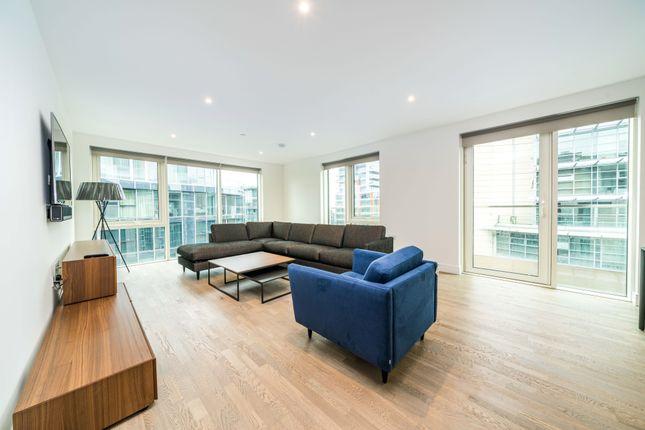 Thumbnail Flat to rent in Merdian House, Juniper Drive, Battersea