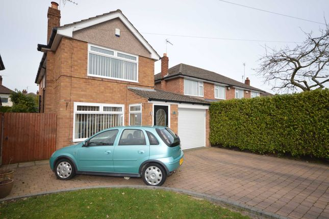 Thumbnail Detached house for sale in Ambleside Close, Bromborough, Wirral