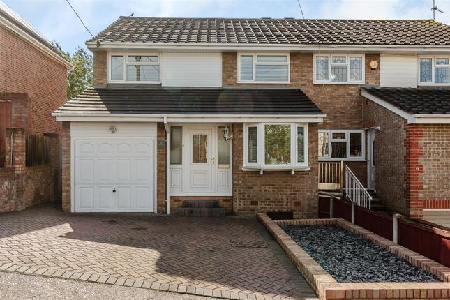 Thumbnail Semi-detached house for sale in Riverview Road, Benfleet