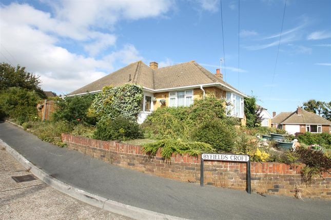 Thumbnail Detached bungalow for sale in Byfields Croft, Bexhill-On-Sea