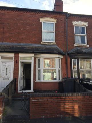 Terraced house in  Henshaw Road  Small Heath  Birmingham  West Midlands  Birmingham