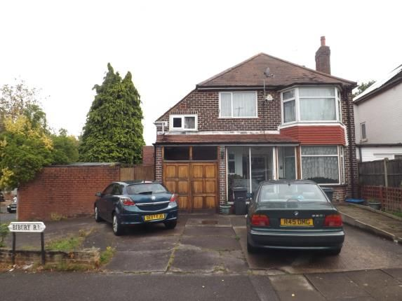 Thumbnail Detached house for sale in Bibury Road, Hall Green, Birmingham