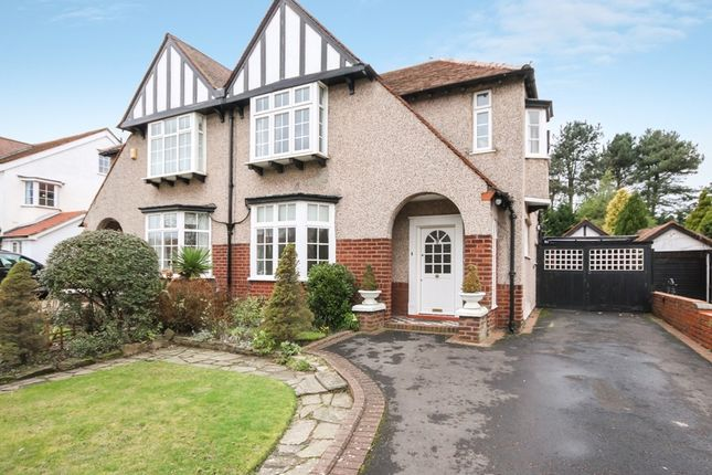 Thumbnail Semi-detached house for sale in Liverpool Road, Birkdale, Southport