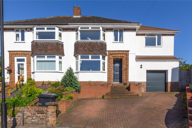 Thumbnail Semi-detached house for sale in East Priory Close, Westbury-On-Trym, Bristol