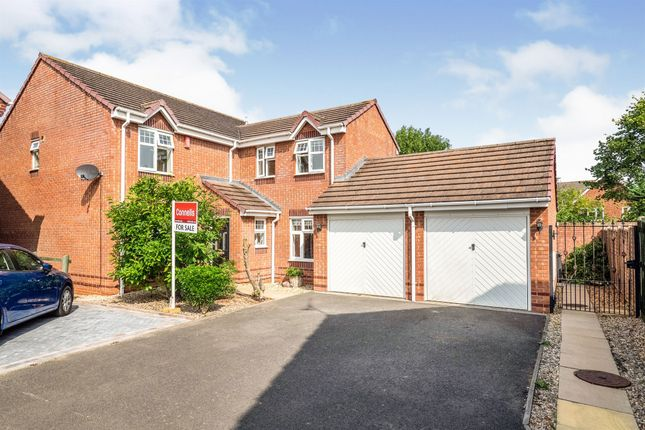 Thumbnail Detached house for sale in Patience Grove, Heathcote, Warwick