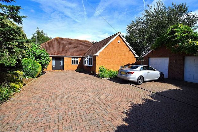 Thumbnail Detached bungalow for sale in Off Hertford Road, Hoddesdon, Hertfordshire