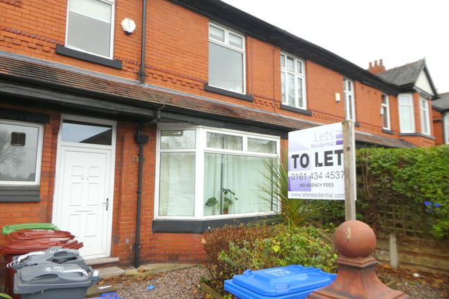 Thumbnail Terraced house to rent in Burton Road, Withington, Manchester