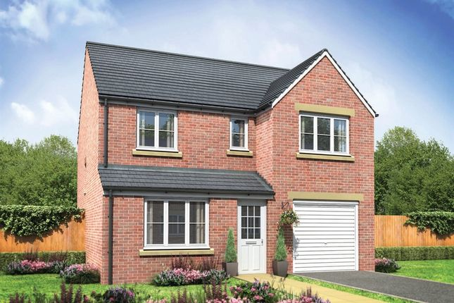 """Thumbnail Detached house for sale in """"The Longthorpe"""" at Brookwood Way, Buckshaw Village, Chorley"""