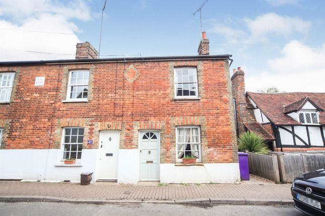 Thumbnail End terrace house for sale in High Street, Whitwell, Hitchin