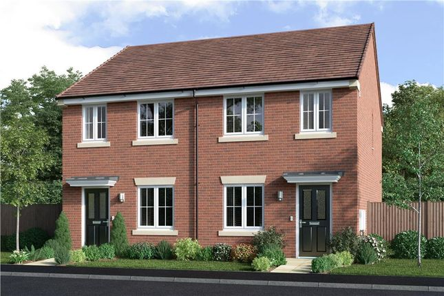 """2 bed semi-detached house for sale in """"Oaken"""" at Keepers Lane, Codsall, Wolverhampton WV8"""