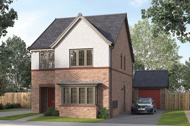 "Thumbnail Detached house for sale in ""The Finsbury"" at Steeplechase Way, Market Harborough"